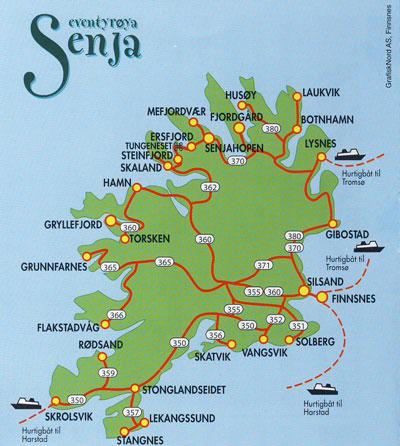 kart over finnsnes Senja kart over finnsnes